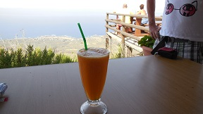 Amygdalokefali / Keramoti Restaurants - Taverna with a View, Crete, Kreta.