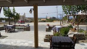 Kochilas Taverna Chrisoskalistissa, Crete, Kreta