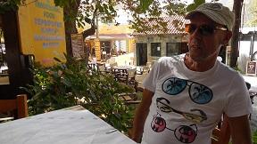 Kastaniafolia Taverna in Elos, Kissamos, Kreta, Crete