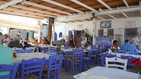 Mochlos, To Bogazi Restaurant, Crete, Kreta.