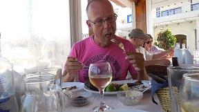 Fish Taverna Thalami Almyrida, Crete, Kreta