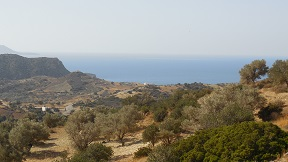 Private villas in Triopetra, Agios Pavlos on Crete