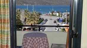 Parthenon Hotel in Souda, Crete, Kreta.