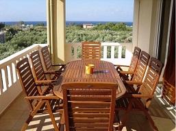 Maleme Beach, Kouros Chania Villas, Crete.