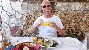 Kalives, Taverna Akrogiali, Crete, Kreta.