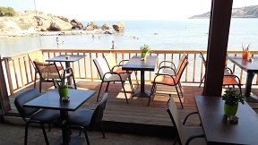 Ammos Café Snackbar Almyrida, Crete, Kreta