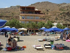 Edelweiss Tsoutsouros beach, Crete, Kreta.
