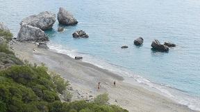 Listis beach, Crete