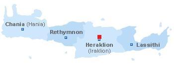 map of Choudetsi Crete