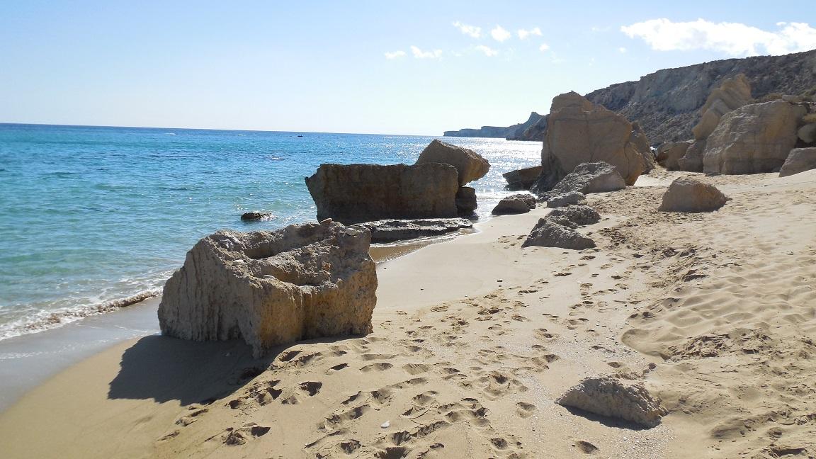 The Island Of Koufonisi Koufonissi Or Koufonision Near