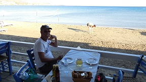 Faros Taverna, Makrigialos, Crete, Kreta
