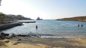 Agios Onoufrios beach, Crete, Kreta