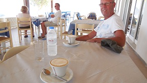 Porto restaurant in Pachia Ammos, Crete, Kreta