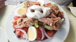 Platanos Restaurant Café in Kritsa, Crete, Kreta