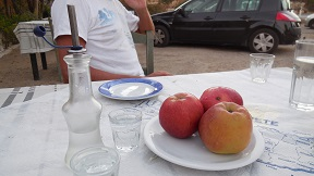 Agios Onoufrios Taverna, Crete, Kreta