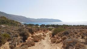 Kedrodasos Beach, Crete, Kreta