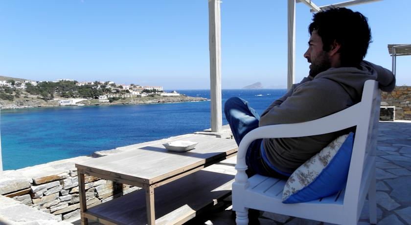 The island of Kythnos or Kithnos in the Cyclades Greece the nicest