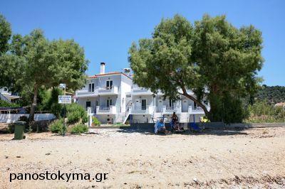 Pano sto Kyma Studios & Apartments, Agios Issodoros, Plomari Lesbos