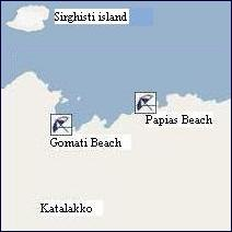 Limnos Beaches, Limnos Stranden