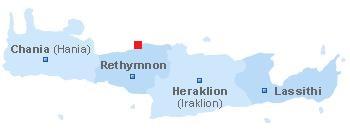 Map of Geropotamos beach