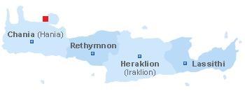 Map of Agios Onoufrios beach