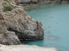 Milos, Tsigrado Beach