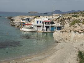 Milos, Mitakas Beach