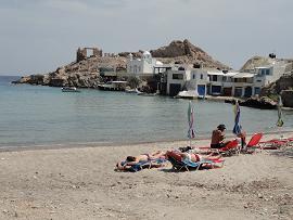 Milos Fyropotamos Beach