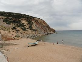 Milos Provatas Beach