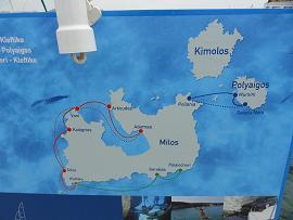 Milos Excursions, Milos Excursies
