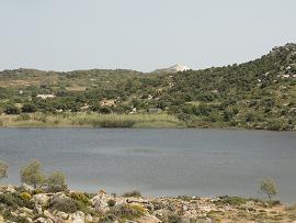 Milos Lake Achivodolimni, Milos Achivodolimni meer