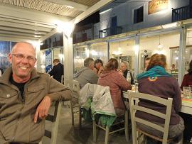 Milos, Gialos Restaurant in Pollonia