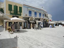 Milos, Ageliki Restaurant in Adamas