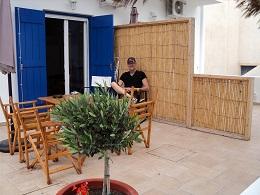 Milos, Heliotropio Hotel in Pollonia
