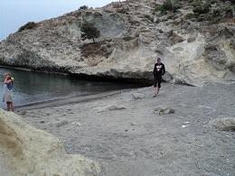 Milos, Papafragas Beach