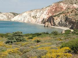 Milos, Firiplaka Beach