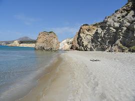 Milos, Fyriplaka Beach