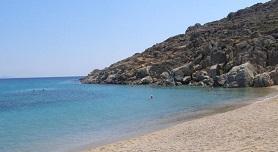 Agrari Beach, Mykonos