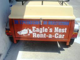 Bike and car rental on the island of Nisyros in Greece - Eagle's Nest, Nisyros Greece, Griekenland