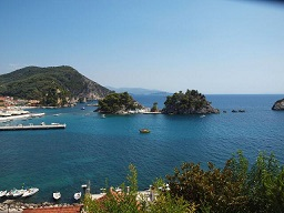 Parga, Greece, Griekenland