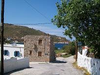 Patmos, Hotel Mathios Studios stone cottage, vakantiehuis