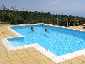 Fig Leaf Villas, Peloponnese, the pool