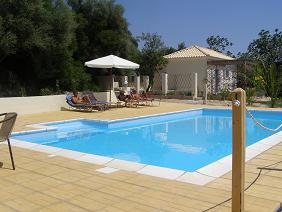 Fig Leaf Villas, Peloponnese, the pool