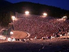 Epidavros, Epidaurus Peloponnese Greece, Peloponnesos Griekenland