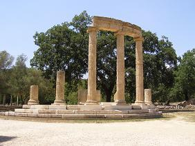 Olympia Peloponnese Greece, Peloponnesos Griekenland