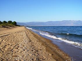 Velikas Beach, Peloponnesos