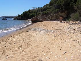 Beach Near Chrani, Peloponnesos