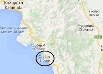 Stoupa map
