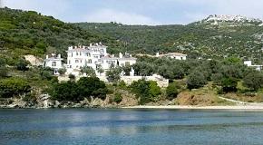 Argo - Mythos in Mylos Agias Kyriakis, Trikeri, Pilion, Pelion, Greece, Griekenland