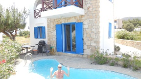 Blue Sea Villa in Gennadi, Rhodos